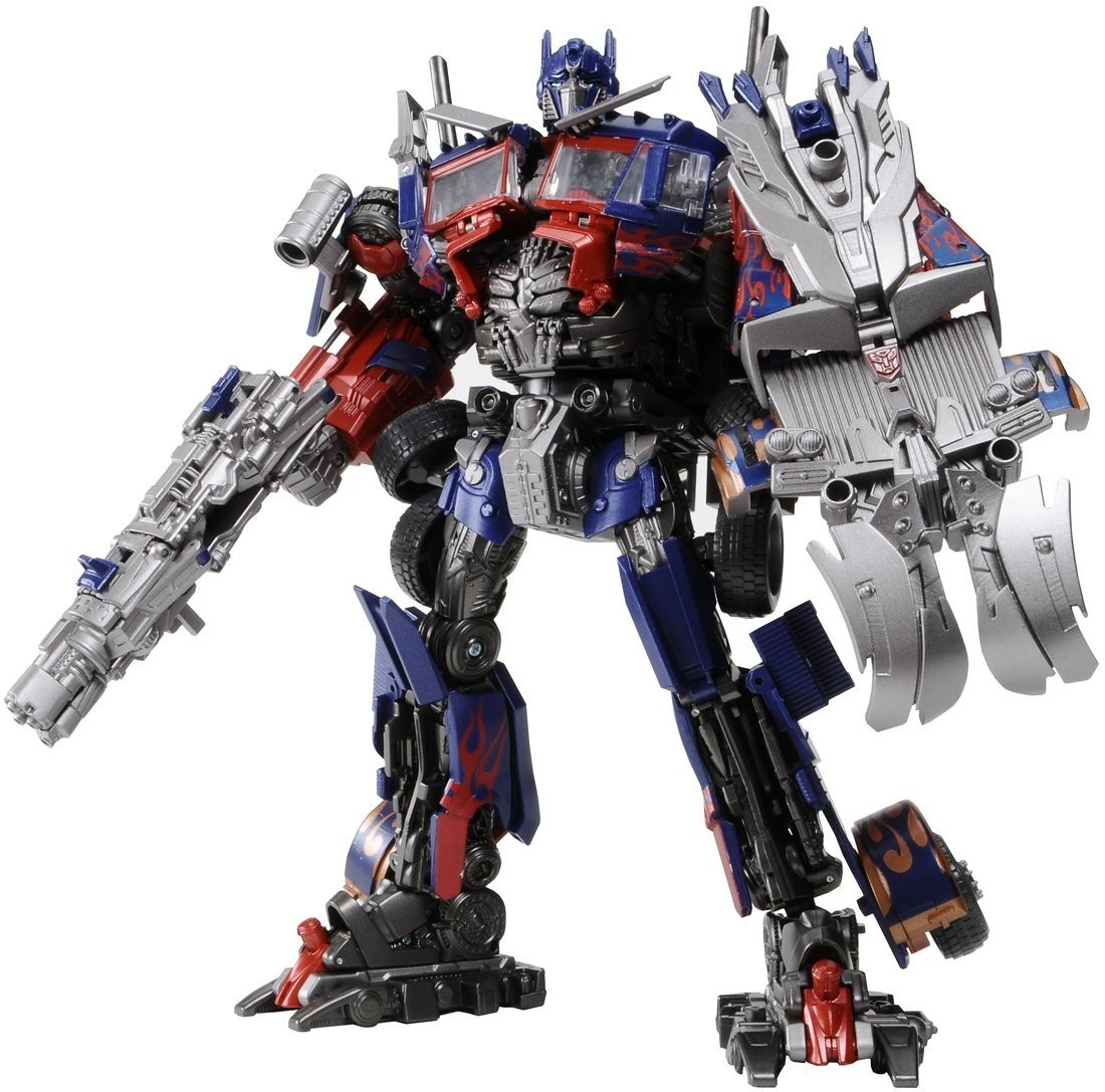 transformers dark of the moon da-28 striker optimus prime - tfs express