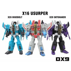 DX9 Toys War in Pocket X16 X28 X29 Seekers Set of 3