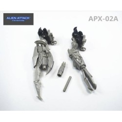 Alien Attack Toys APX-02A Arms for Leader Class Megatron