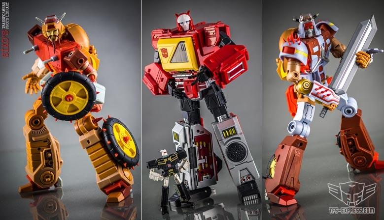 KFC Toys E.A.V.I. METAL Phase 6 Crash Hog & Dumpyard