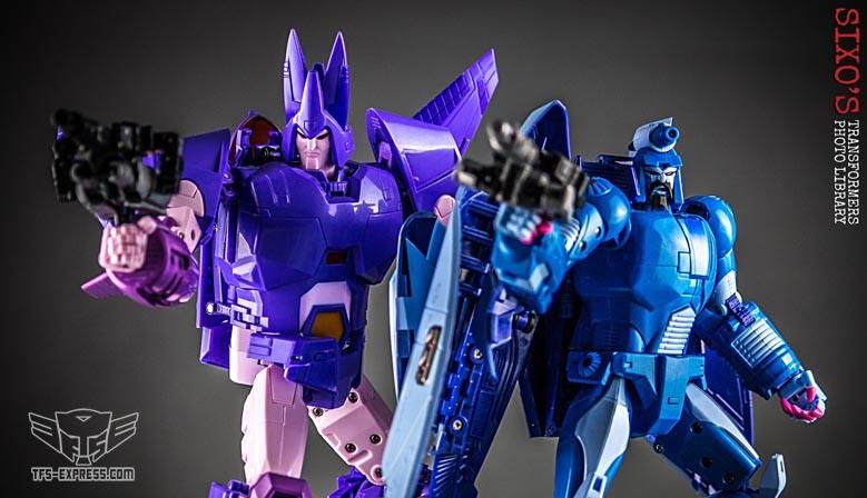 X-Transbots MX-II Andras w/ Rimfire & MX-III Eligos